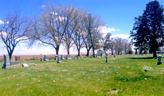 Another view of Plainfield Cemetery.