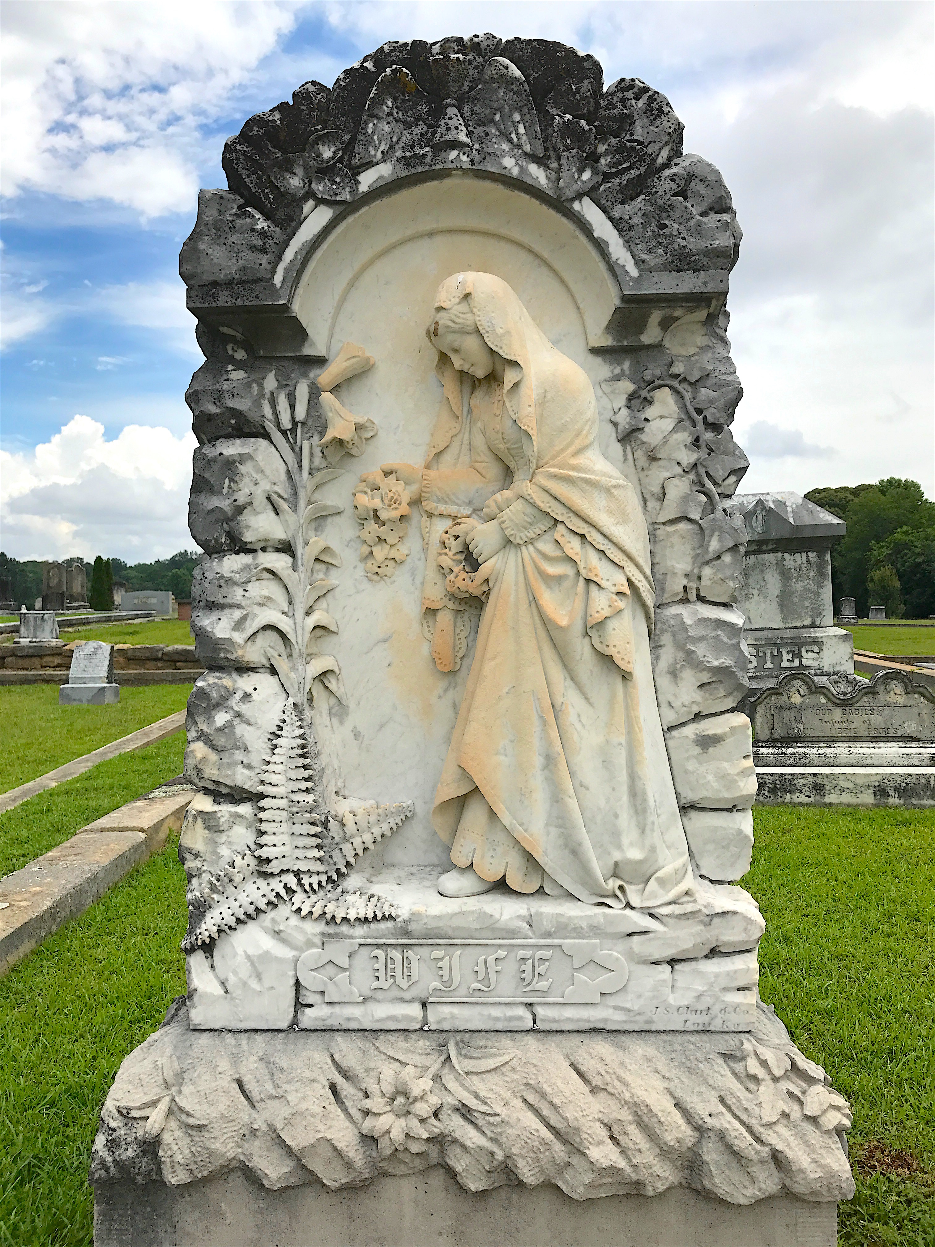 Stopping By Gainesville Ga S Alta Vista Cemetery The